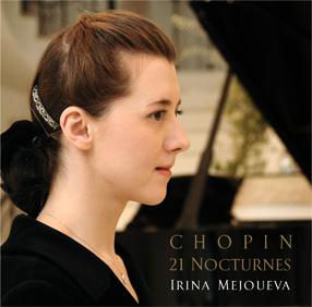 ショパン:ノクターン集 (21曲)WAKA-4143-44 イリーナ・メジューエワ